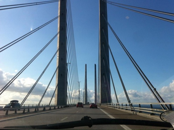 The Bridge between two Countries, Copenhagen and Malmø