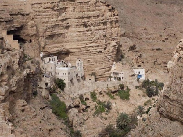 St. George's Monastery, Wadi Qelt, Mar Saba Monastery, and Bethlehem One Day Tour
