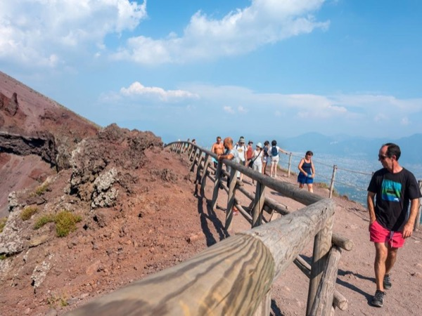 Pompeii and Vesuvius Excursion - private transportation based