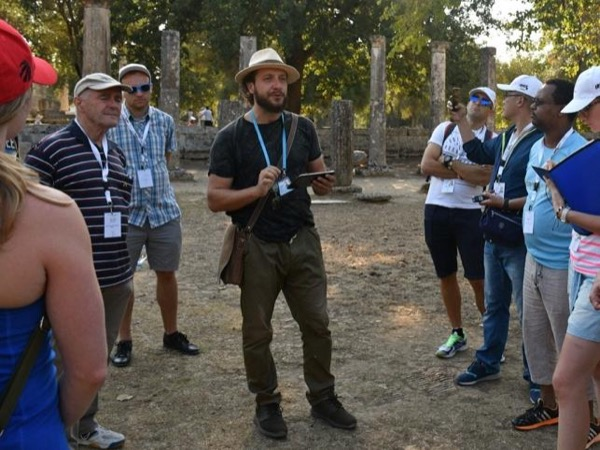 Private guided walking tour in ancient Olympia and archaeological museum