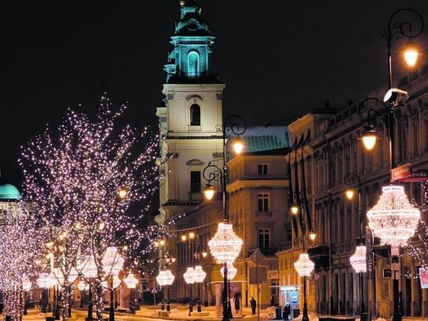 Christmas & Winter Warsaw Evening Tour