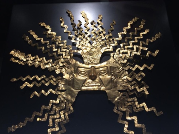 Private Tour of Newly Opened Spectacular National Gold Museum and Spectacular Guayasamin Museum and Eclectic Home