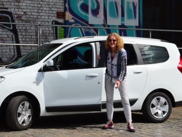 Private family van tour in Hamburg