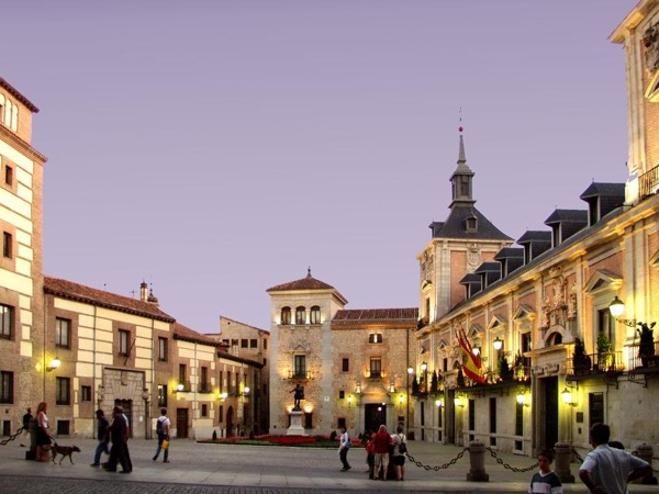 Madrid at Night Private Walking Tour