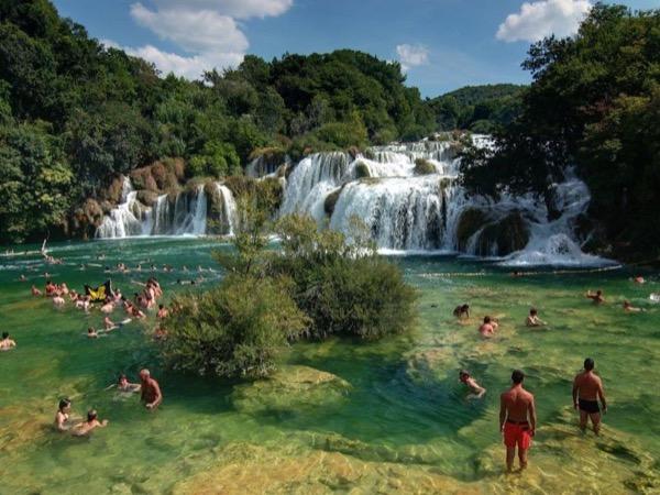 Private Krka Waterfalls and Šibenik Tour