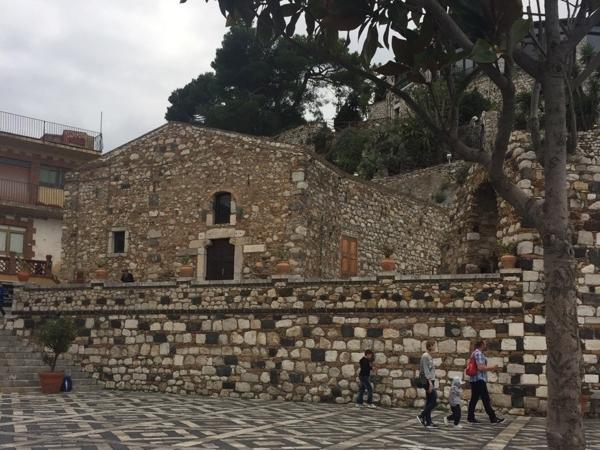 Transfer from Palermo to Taormina visiting Cefalu and Santo Stefano di Camastra
