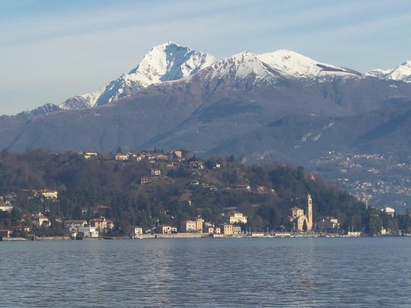 The 'Greenway' on Lake Como