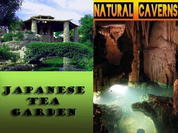 The San Antonio Japanese Tea Gardens and Natural Caverns