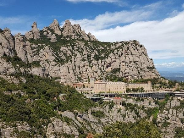 The pixeled Montserrat Mountain and Wine Tasting