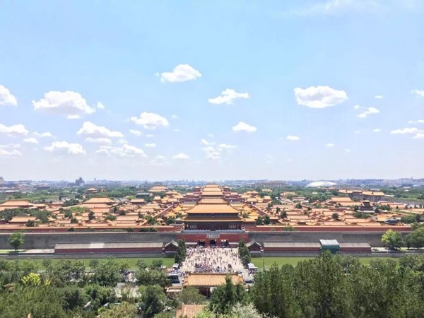 One day photography and Explore Forbidden City with Tian'anmen Square and Jianshan Park