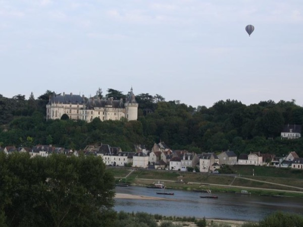 Delightful hot-air balloon ride over the Loire Valley