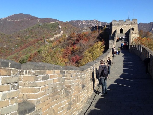 The Great Wall of China and Summer palace. Beijing Local Hutong