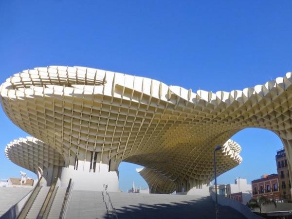Antiquarium and Metropol Parasol Roof