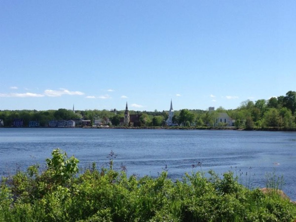 Picturesque Mahone Bay/ Lunenburg. UNESCO site