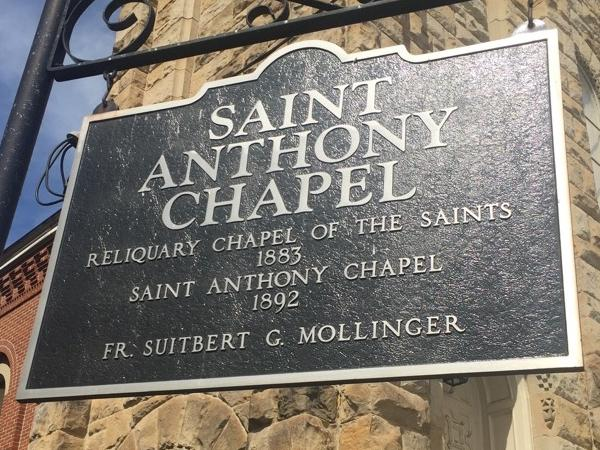 St Anthony Chapel, private tour