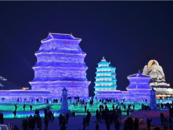 5 Full Days Harbin Ice Festival Private Tour with Overnight China's Snow Town Experience