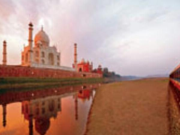 Same Day Taj Mahal private tour by Train....