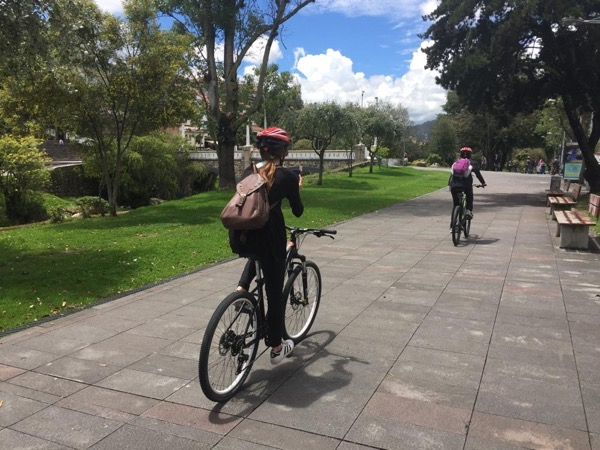 Cuenca Bike Tour including Pumapungo Inca Site