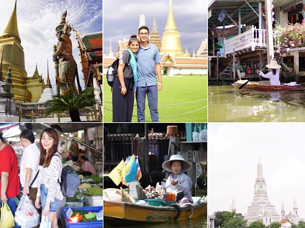 Floating Market & Essential Bangkok Tour