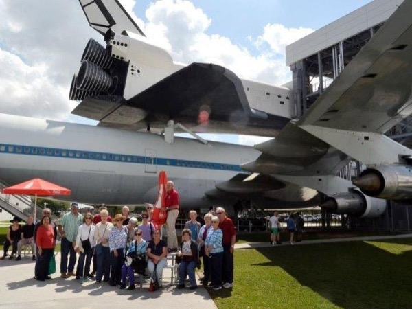 Group Tour of Space Center Houston with Your Own Transportation and Admissions