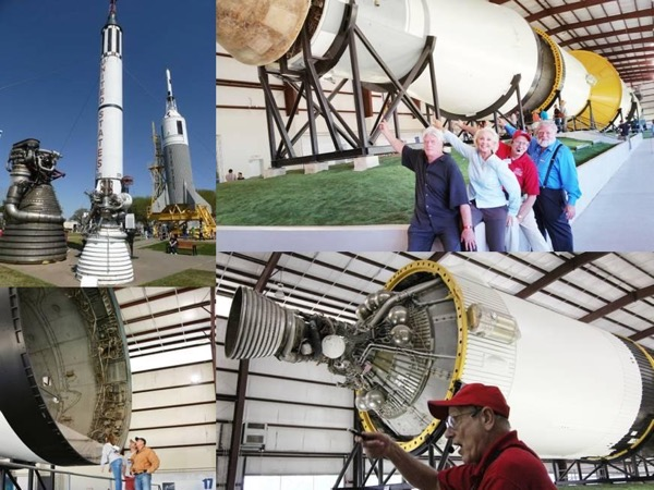 Highlights of NASA Rocket Park with Your Own Transport