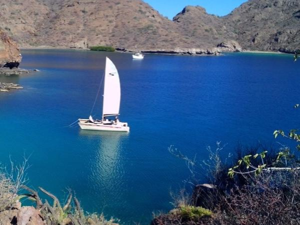 Day Sailing tour in Loreto Bay by Catamaran