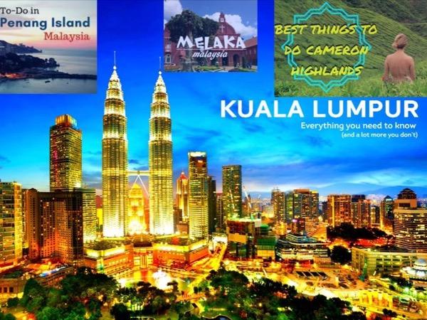Full Malaysia Tour kuala lumpur penang cameron highlands