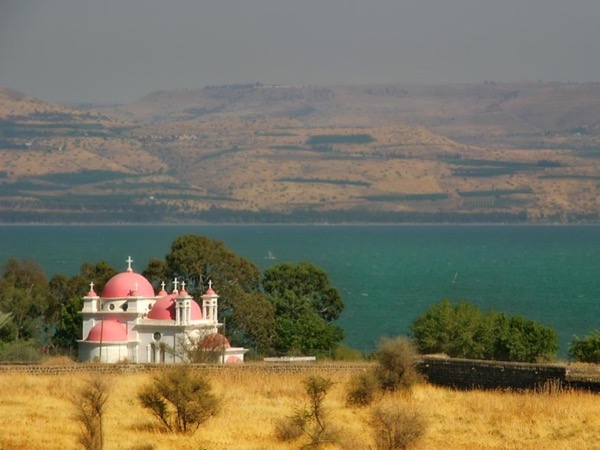 Private Tour of Churches around the sea of Galilee