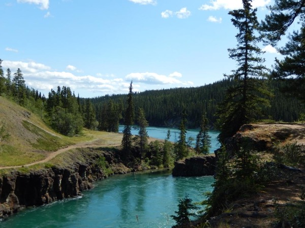 3 Hours Miles Canyon/S.S. Klondike/Takhini Hot Springs Tour for 2 people