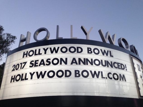 Music Under The Stars at the Hollywood Bowl
