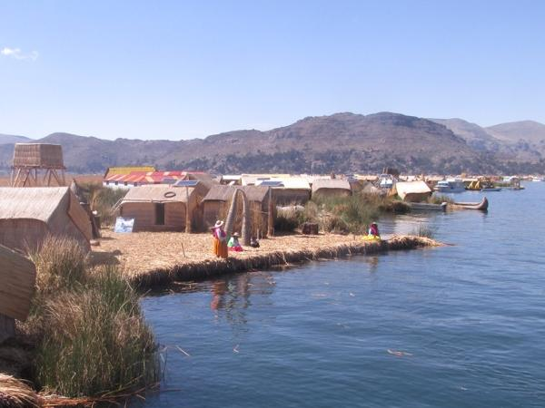 Half day trip to Uros islands from Puno