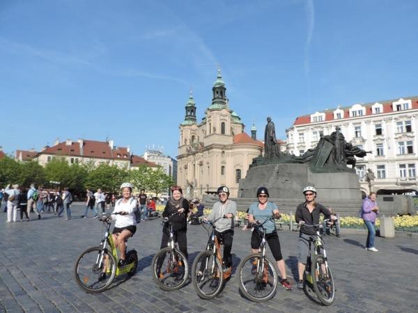 Prague on E-Scooter!!!