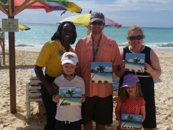 Antigua Beaches, Face Painting & Culture