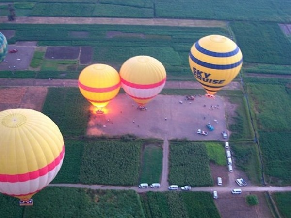 Hot air balloon..an amazing adventure