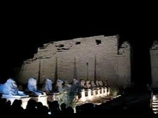 Sound & Light Show at the Temple of Karnak