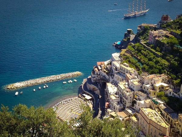 Pompeii and the Amalfi and Sorrento Coast - unforgettable Naples Shore-Excursion