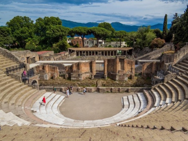 Archaeology under the shade of the Mt Vesuvius - One day tour private tour from Naples Railway Station
