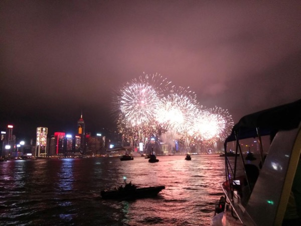 2019 Victoria Harbour New Year's Eve Fireworks Cruise (18+ ONLY)