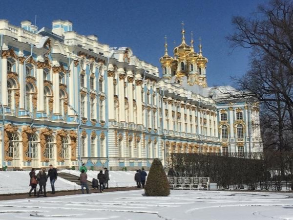 Winter St Petersburg Private tour. Hermitage+Tzarskoe selo by car