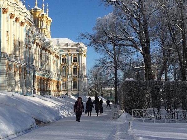 Winter in St.Petersburg 2 -days private tour