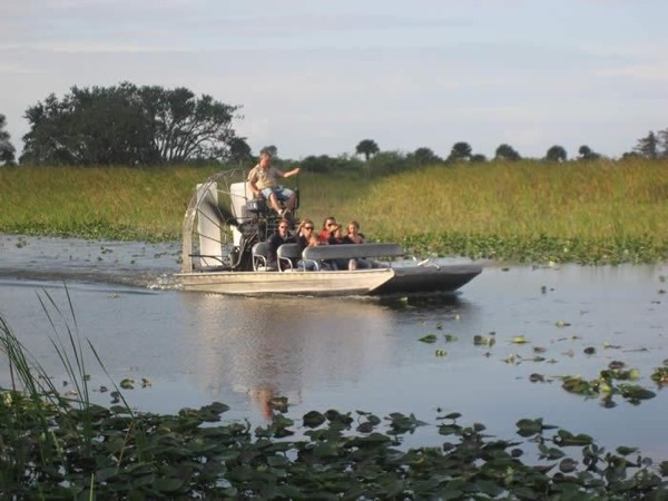 Private Everglades and shared Air Boat ride.