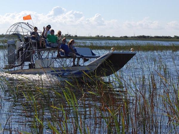 Private Everglades and shared Air Boat ride with transportation