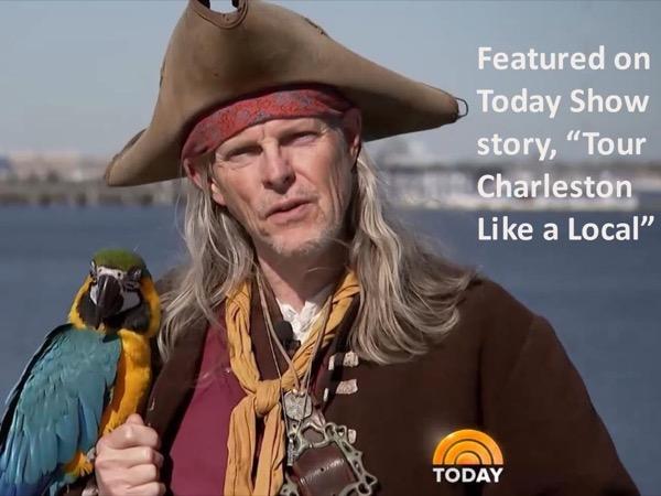 Charleston Pirate Walking Tour