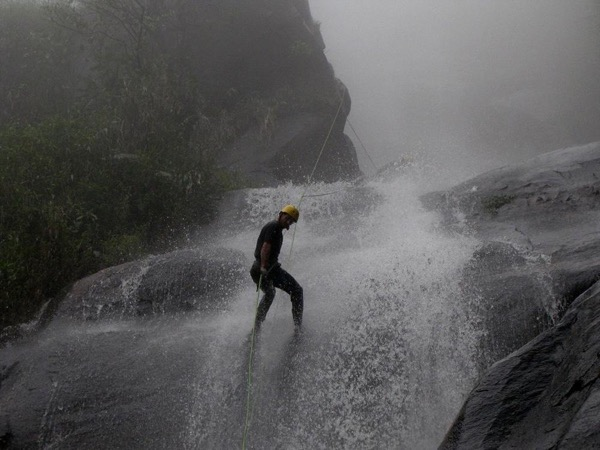 Canyoning in Támesis, Southwest of Medellín