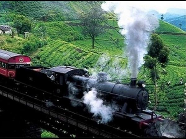 Sri Lanka Train Window traveler with locals 7 Days