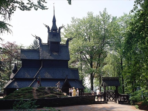 A Tour of Bergen and Fantoft Stave-church