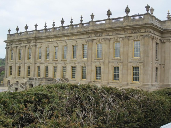 Chatsworth-- England's Finest Country House-- set in beautiful Peak District National Park