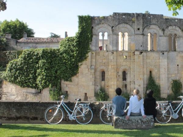Biking Wine Tour in Word Famous Saint-Emilion vineyards