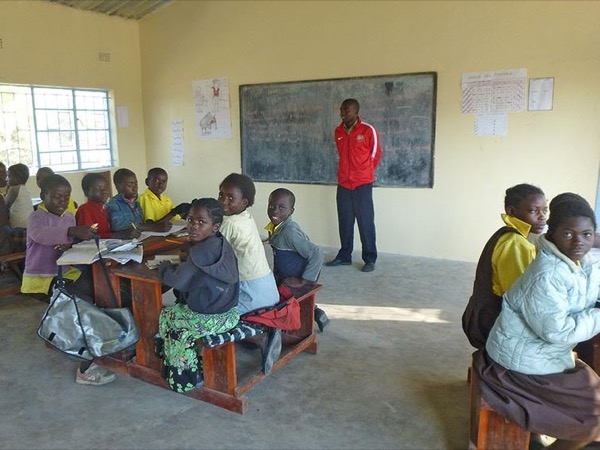 Tour A Rural School in Zambia