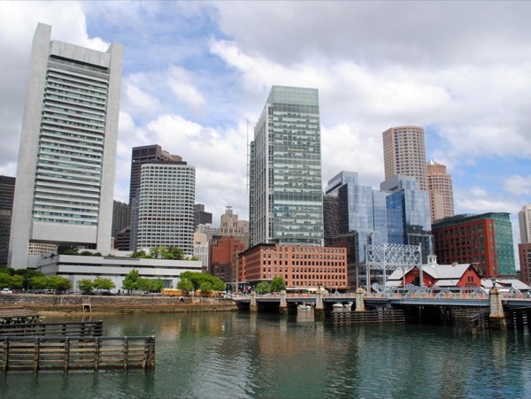 Boston's Downtown Waterfront